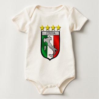 Italia Azzurri 4 times world champions Baby Bodysuit