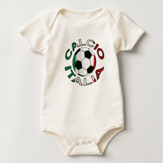 Italia Calcio Italy Football Baby Bodysuit