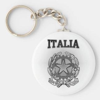 Italia Coat of Arms Keychain