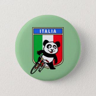 Italia Cycling Panda 2 Inch Round Button