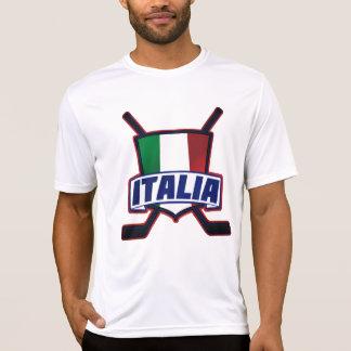 Italia Hockey su Ghiaccio T-Shirt