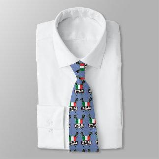 Italia Italian Lacrosse Tie