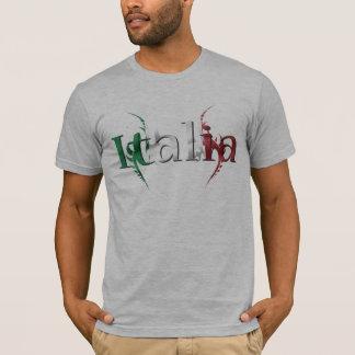 Italia Italian Stallion Flag Shirt With Tribal