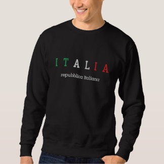 ITALIA (Italy), Repubblica italiana Embroidered Sweatshirt