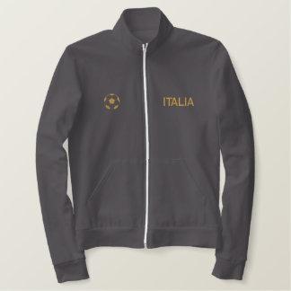 Italia - Italy Soccer Embroidered Jacket