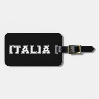 Italia Luggage Tag