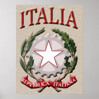 Italia Poster Print