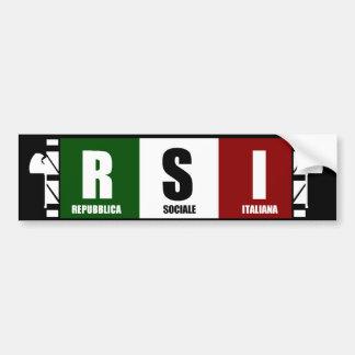 ITALIA SOCIALE BUMPER STICKER
