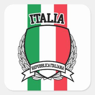 Italia Square Sticker