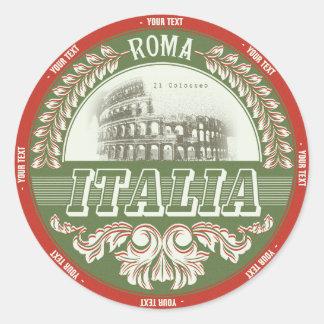 Italia sticker