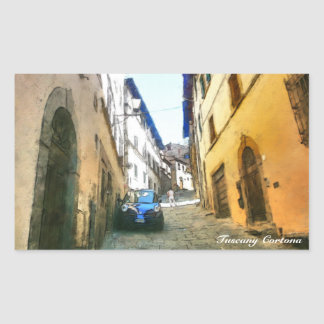 Italia Tuscany Cortona. Sticker