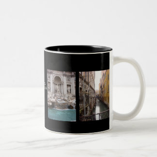 italia Two-Tone coffee mug