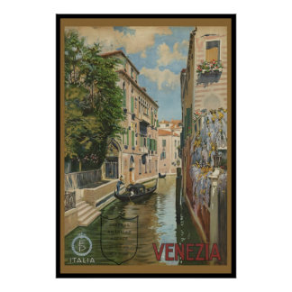 Italia Venezia Poster
