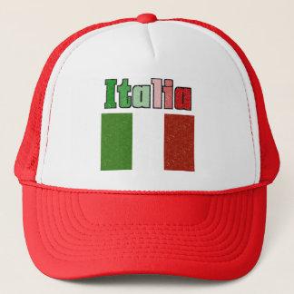 Italia Vintage Flag Retro Hat
