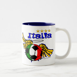 Italia wings Two-Tone coffee mug