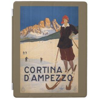 Italian Alps vintage travel device covers iPad Cover