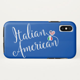 Italian American Entwined Hearts Cell Phone Case
