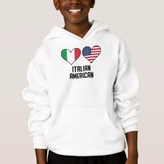 Italian American Heart Flags