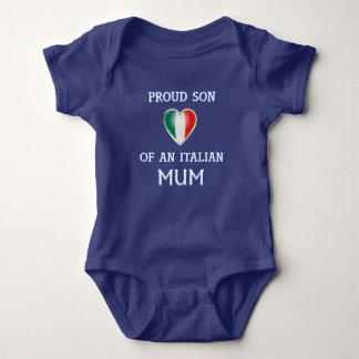 Italian american pride baby jersey baby bodysuit