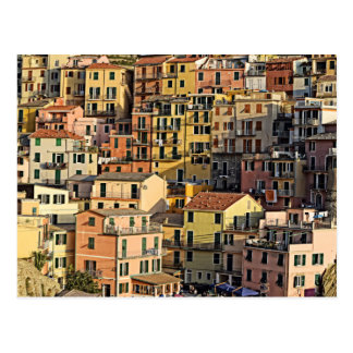 Italian Apartment Living - Manarola Postcard