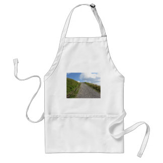 Italian Apennine mountains landscape Standard Apron