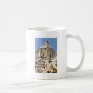 Italian architecture in Piazza Navona,Rome, Italy Coffee Mug