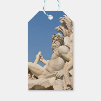Italian architecture in Piazza Navona,Rome, Italy Gift Tags