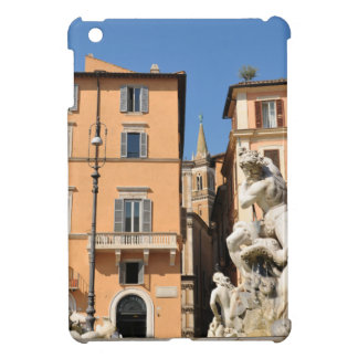 Italian architecture in Piazza Navona,Rome, Italy iPad Mini Cover