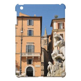 Italian architecture in Piazza Navona,Rome, Italy iPad Mini Covers