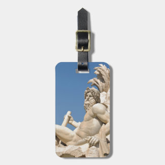 Italian architecture in Piazza Navona,Rome, Italy Luggage Tag