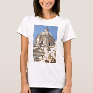 Italian architecture in Piazza Navona,Rome, Italy T-Shirt