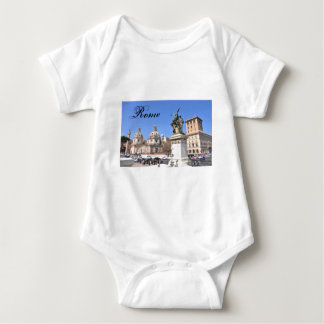 Italian architecture in Rome, Italy Baby Bodysuit