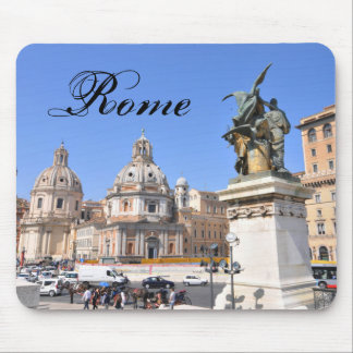 Italian architecture in Rome, Italy Mouse Pad