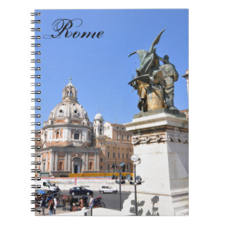 Italian architecture in Rome, Italy Notebook