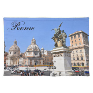 Italian architecture in Rome, Italy Placemat
