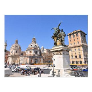 Italian architecture in Rome, Italy Postcard