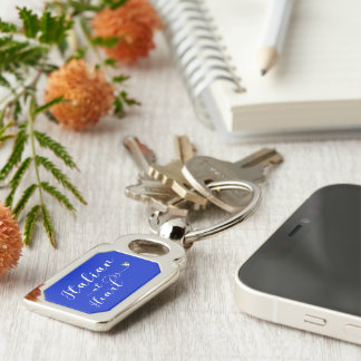 Italian At Heart Keyring, Italy Keychain