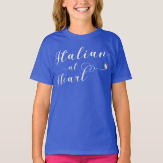 Italian At Heart T-Shirt, Italy T-Shirt