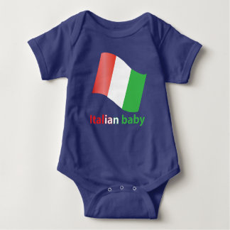 Italian baby baby bodysuit