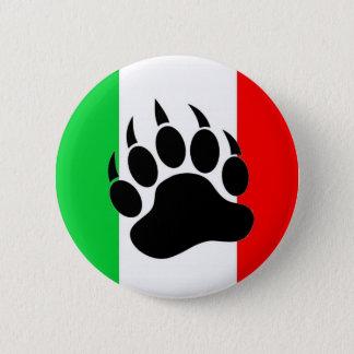 Italian Bear Pride 2 Inch Round Button