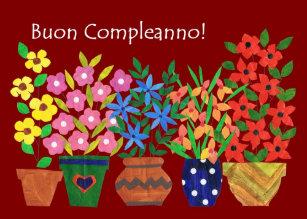 Flower Power Birthday Cards