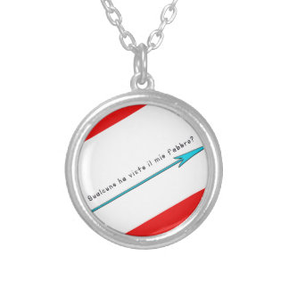 Italian-Blacksmith Silver Plated Necklace