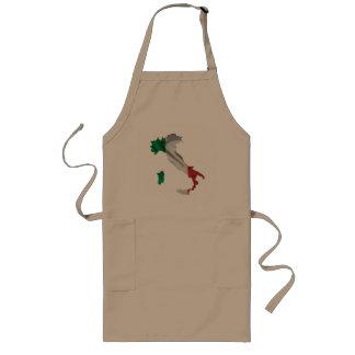 Italian boot long apron