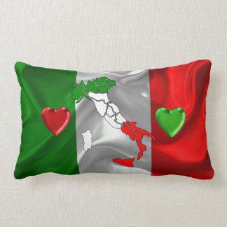Italian boot lumbar pillow