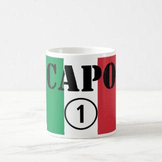 Italian Bosses Capo Numero Uno Mugs