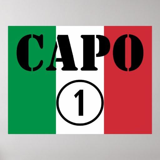 Italian Bosses : Capo Numero Uno Poster