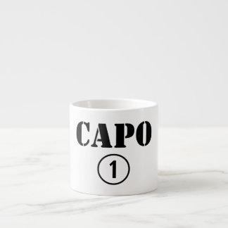 Italian Bosses Capo Numero Uno Espresso Cup