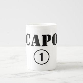 Italian Bosses Capo Numero Uno Bone China Mugs