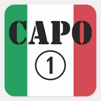Italian Bosses : Capo Numero Uno Sticker