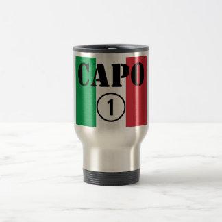 Italian Bosses : Capo Numero Uno Travel Mug